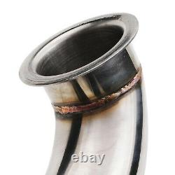 2.25 Stainless Exhaust De Cat Bypass Decat Downpipe For Seat Leon Altea 2.0 Tdi