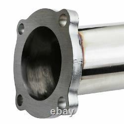 3 Stainless Exhaust De Cat Bypass Decat Downpipe For Audi A3 Tt 1.8t Aum Auq