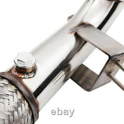 3 Stainless Exhaust De Cat Decat Downpipe For Ford Fiesta St 180 St180 Ecoboost