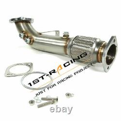 3 Stainless Exhaust De Cat Decat Downpipe For Ford Fissta ST 180 ST180 Ecoboost