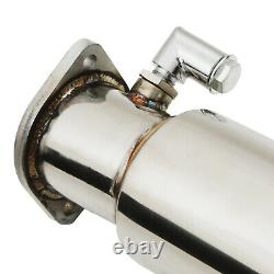 3 Stainless Exhaust De Cat Decat & Downpipe For Ford Focus Mk2 Rs St 225 St225