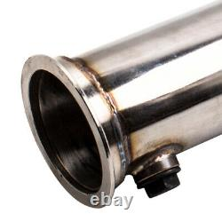 3 Stainless Steel T304 Decat Downpipe FOR VW Golf Mk5 MK6 AUDI A3 2.0 GTI New