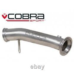 Cobra BMW M235i Decat F22 3 De cat Downpipe Exhaust Removes OE Catalyst BM82