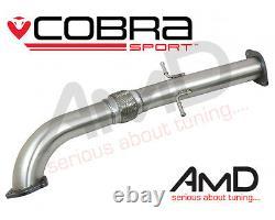 Cobra Sport Astra VXR J GTC Secondary Cat Bypass Pipe Exhaust Second Decat 3.0