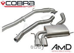 Cobra Sport Audi S3 Full Exhaust Decat Non Resonated 3 AU09d