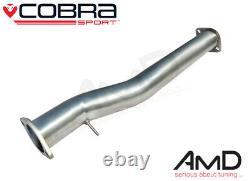 Cobra Sport Mitsubishi EVO X Stainless Steel Decat Pipe Decat EVO 10 MT33