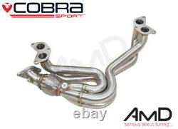Cobra Sport TOYOTA GT86 Decat Manifold Exhaust 4-1 Unequal Length Stainless TY16