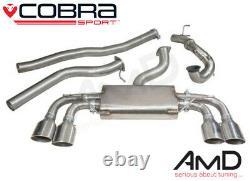 Cobra Sport VW MK7 Golf R Non Resonated Full Exhaust Decat VW50D