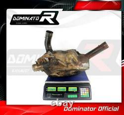 DE-CAT DECAT Cat Eliminator Down Pipe DOMINATOR MTS 1200 S MULTISTRADA 10-14