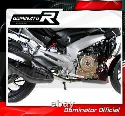 DE-CAT DECAT Cat Eliminator Down Pipe Exhaust DOMINATOR BAJAJ Dominar 400 16-18