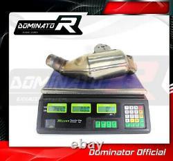 DE-CAT DECAT Cat Eliminator Down Pipe Exhaust DOMINATOR GSX 1300 B-KING 07-12