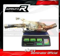 DE-CAT DECAT Cat Eliminator Down Pipe Exhaust DOMINATOR R850R 04-07