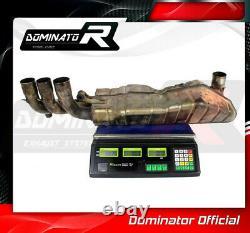 DE-CAT DECAT Cat Eliminator Down Pipe Exhaust DOMINATOR RST 1000 FUTURA 01-04