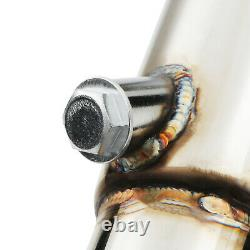 Japspeed Stainless Steel Exhaust Decat De Cat Downpipe For Mazda Rx-8 Rx8 03-09