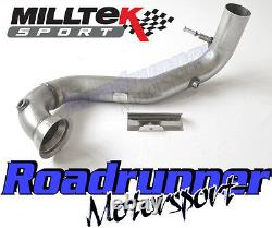 Milltek Decat Downpipe Mercedes A-Class A45 AMG 2.0 Exhaust Removes Cat 3 Pipe