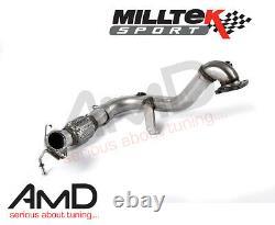 Milltek Fiesta 1.0 ECOBOOST De Cat Downpipe Exhaust Decat SSXFD103 ZETEC S