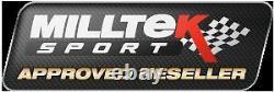 Milltek Golf R MK6 Decat Downpipe Exhaust Stainless Cast De-Cat 2.0 TFSI 270PS