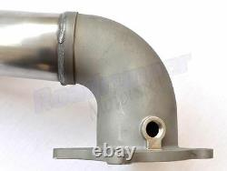 Milltek SSXAU284 3 Decat Downpipe Stainless Exhaust Removes Cat Fits 2.75 Sys