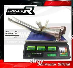 S1000RR DE-CAT DECAT Katalysator Entfernung Downpipe DOMINATOR 2009 2010 2011