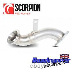 Scorpion Corsa D 1.4T Black Edition Decat Downpipe Exhaust Removes Cat SVXC058