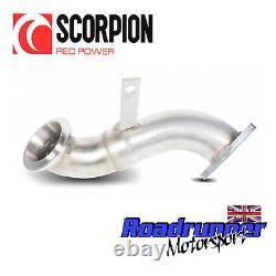 Scorpion De-cat Astra J GTC 1.4T Exhaust Decat Turbo Downpipe 1st Precat SVXC058