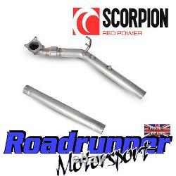 Scorpion Golf GTI MK5 Decat Downpipe Exhaust De-cat Pipe Fits OE SVWC042