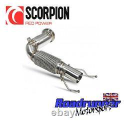 Scorpion Mini Cooper S F56 Decat Downpipe Exhaust Deletes Cat Fits OE SMNC010