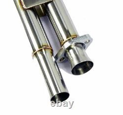 Stainless Cat Replacement Pipe Downpipe Decat-Pipe For for BMW 3er E30 320i 325i