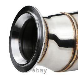 Stainless Decat De Cat Exhaust Downpipe For E82 E88 E90 E91 N55 Single Turbo 11+