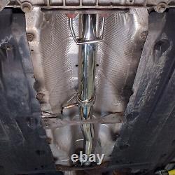 Stainless Exhaust 3 Decat De Cat Downpipe For Seat Leon Toledo Altea 2.0 Tfsi
