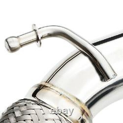 Stainless Exhaust De Cat Bypass Decat Downpipe For Audi A3 8p 3.2 V6 Quattro 03