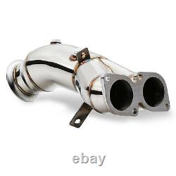 Stainless Exhaust De Cat Bypass Decat Downpipe For Bmw E82 E88 E90 E91 N55 Turbo