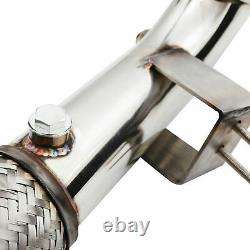 Stainless Exhaust De Cat Bypass Decat Downpipe For Ford Fiesta St 180 St180