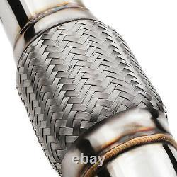 Stainless Exhaust De Cat Bypass Decat Downpipe For Skoda Octavia Mk2 Tfsi Vrs