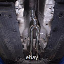 Stainless Exhaust De Cat Bypass Decat Downpipe For Vw Golf Mk5 R32 3.2 04-09