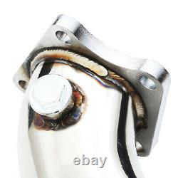 Stainless Exhaust De Cat Bypass Decat Downpipe Pair For Audi Rs6 C6 Bi Turbo 02+