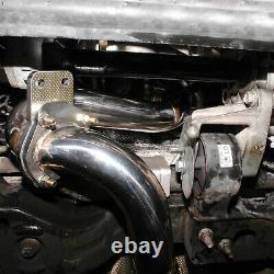 Stainless Exhaust Decat Bypass De Cat Downpipe For Vauxhall Opel Astra J Gtc Vxr