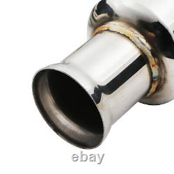 Stainless Exhaust Decat De Cat Downpipes Pipes For Audi A4 B5 S4 2.7 V6 Turbo