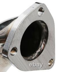 Stainless Race Exhaust De Cat Decat Downpipe For Skoda Octavia 1u 1.9 Tdi 97-06