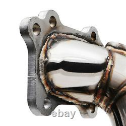 Stainless Race Exhaust Decat De Cat Downpipe For Toyota Mr2 Sw20 2.0 Turbo 89-99