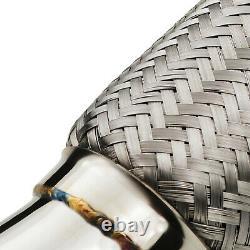 Stainless Race Sport Exhaust De Cat Decat Downpipe For Seat Leon Cupra 2.0 Tfsi
