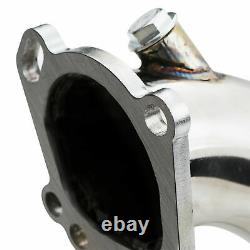 Stainless Steel Exhaust Decat De Cat Downpipes For Audi A4 S4 2.7 V6 Bi Turbo