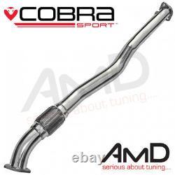 VX05d Cobra Sport Zafira GSi 2.5 Decat Pipe Removes Second Cat Decat pipe